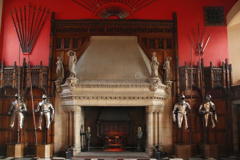 Armadura no castelo de Edimburgo imagem de stock royalty free