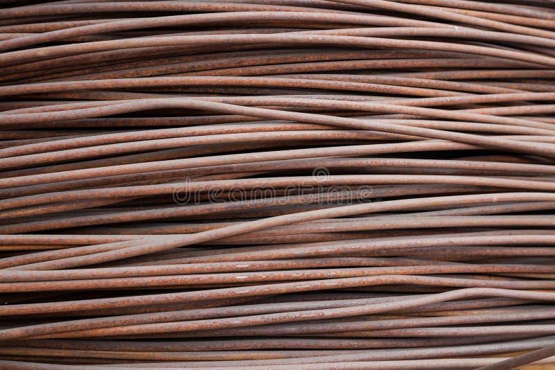 Armadura oxidada del alambre imágenes de archivo libres de regalías