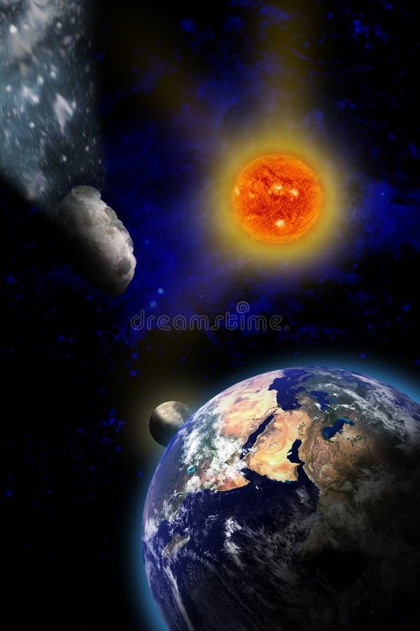 Armageddon royalty illustrazione gratis