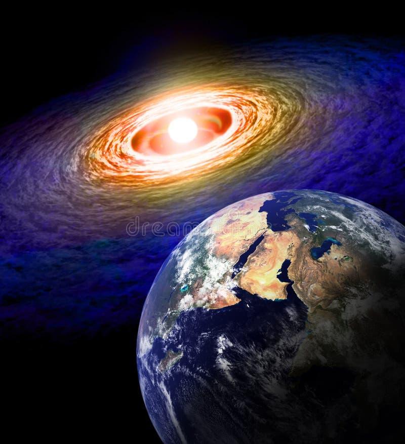 Armageddon illustrazione vettoriale
