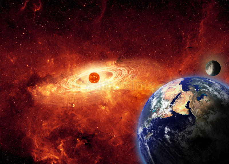 Armageddon illustrazione di stock
