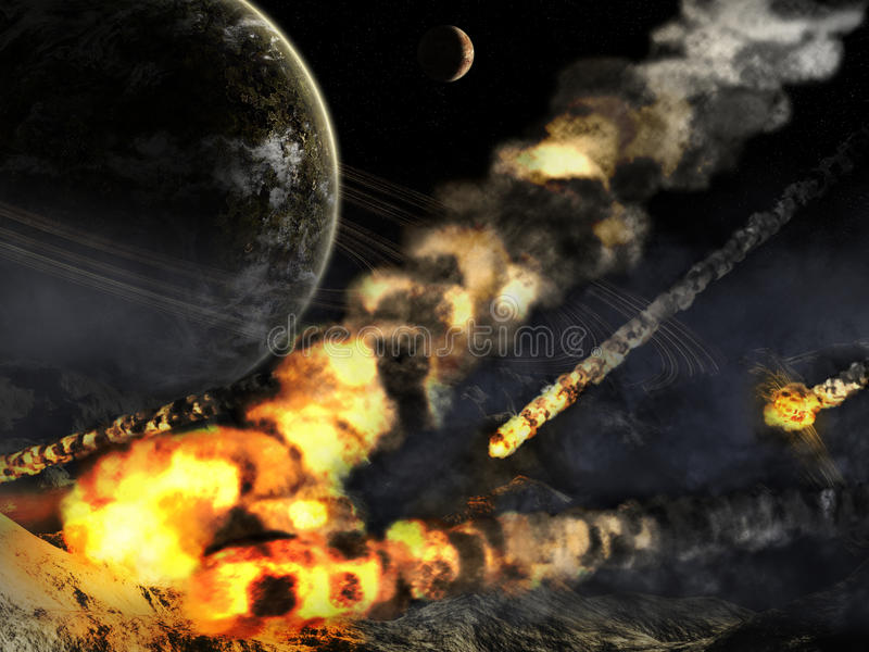 Armageddon stock illustration