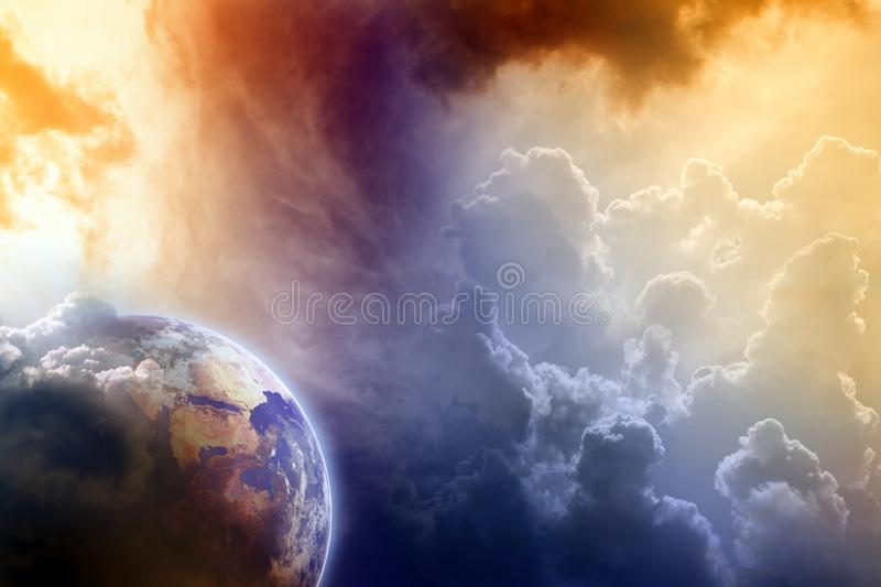 Armageddon royalty free stock photography