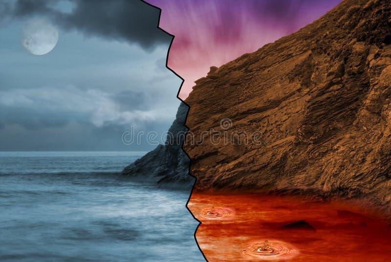 Armageddon imagem de stock