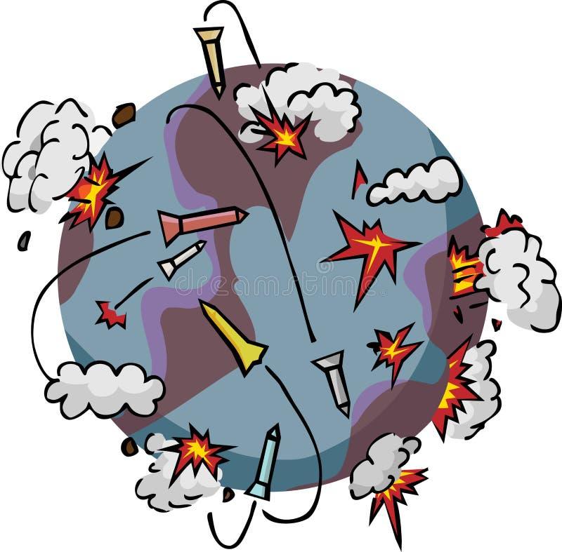 Armageddon ilustração do vetor