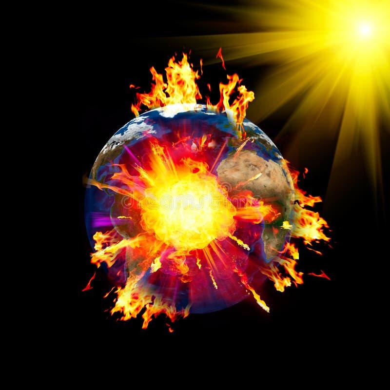 Armageddon ilustración del vector