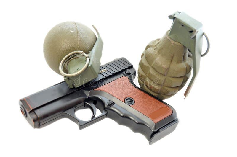 Armamento militante fotografia stock libera da diritti