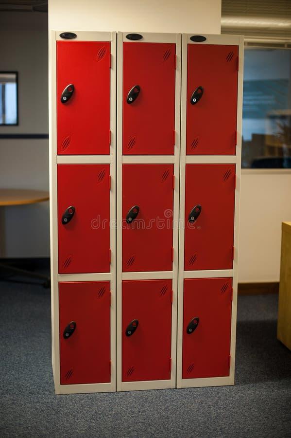 Armario del almacenamiento, nueve secciones. imágenes de archivo libres de regalías