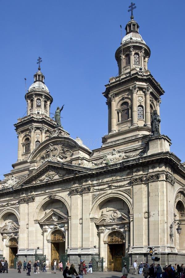 armas智利de plaza圣地亚哥 免版税库存照片