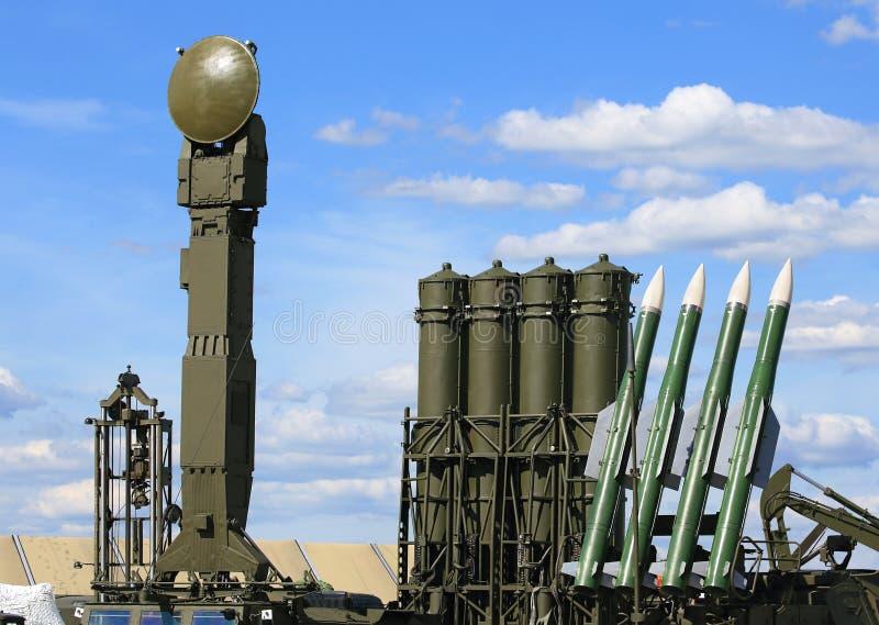 Armas antiaéreas da defesa imagem de stock