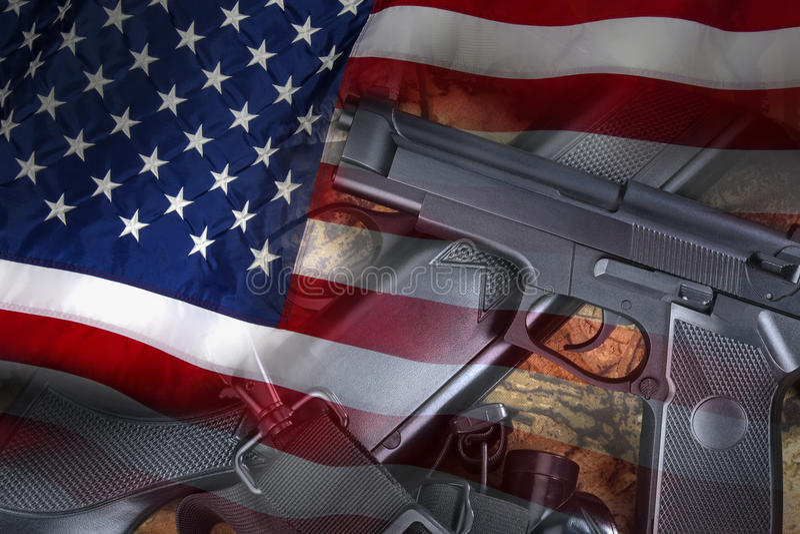Armas - armas - Estados Unidos imagem de stock royalty free