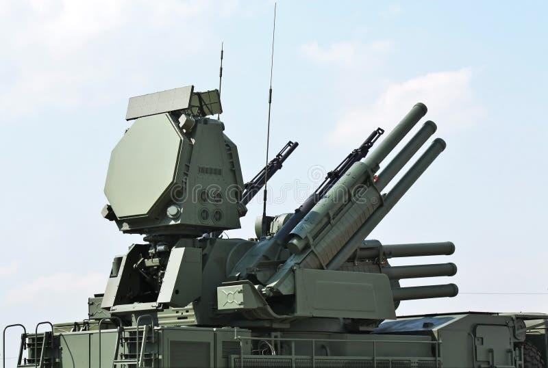 Armas da defesa antiaérea fotos de stock