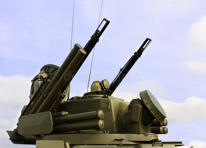 Armas da defesa antiaérea imagens de stock royalty free