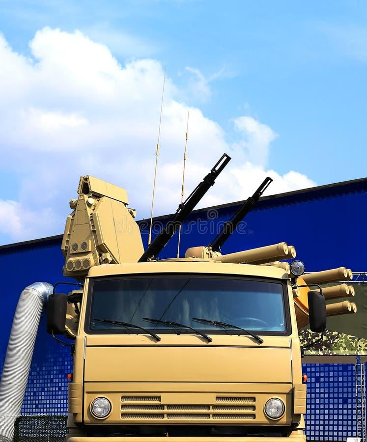 Armas do anti sistema de defesa dos aviões imagens de stock royalty free
