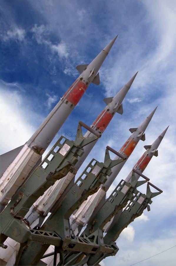Armas do míssil imagem de stock