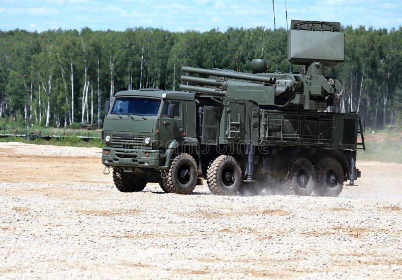 Armas do sistema de defesa antiaérea foto de stock royalty free