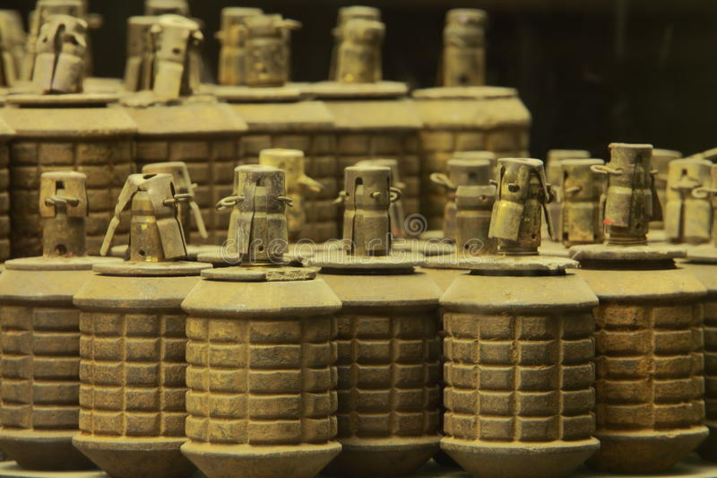 Armas e granadas fotos de stock royalty free