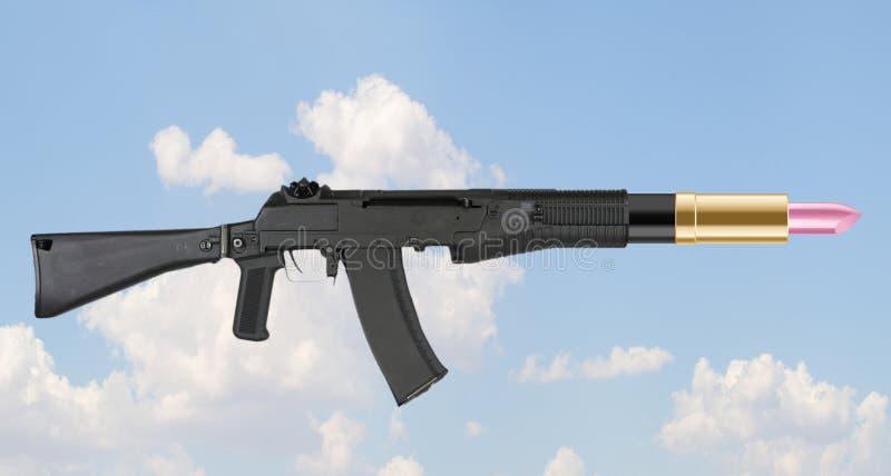 Armas que no matan foto de archivo