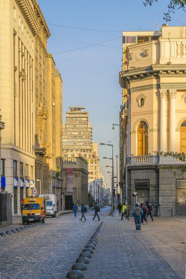 Armas Square, Santiago de Chile royalty free stock images