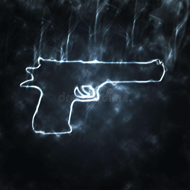 armatni dym ilustracja wektor