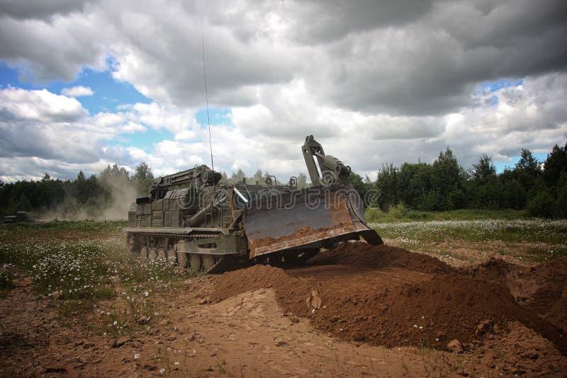 Armatore corazzato BAT-2 fotografia stock libera da diritti