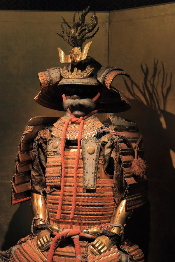 Armatura del clan di Tokugawa immagine stock libera da diritti
