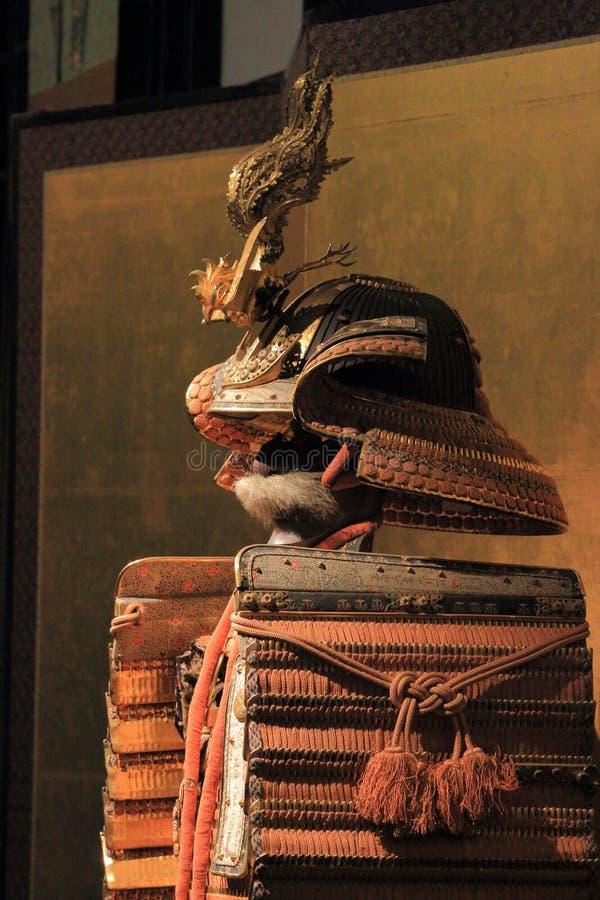 Armatura del clan di Tokugawa fotografie stock