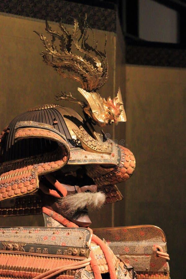 Armatura di parata del clan di Tokugawa fotografia stock
