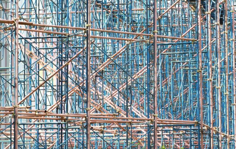 Armatura per i lavori di costruzione al cantiere fotografia stock libera da diritti