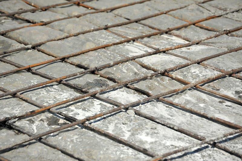 Armature и бетон утюга стоковое изображение rf