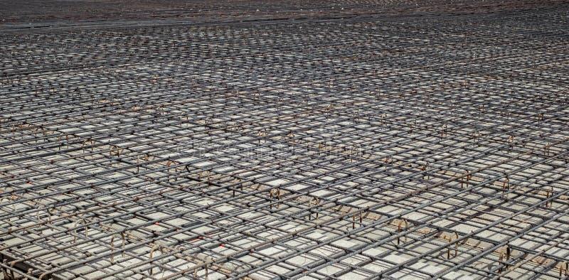 Armature и стальные пруты инфраструктуры конструкции стоковая фотография