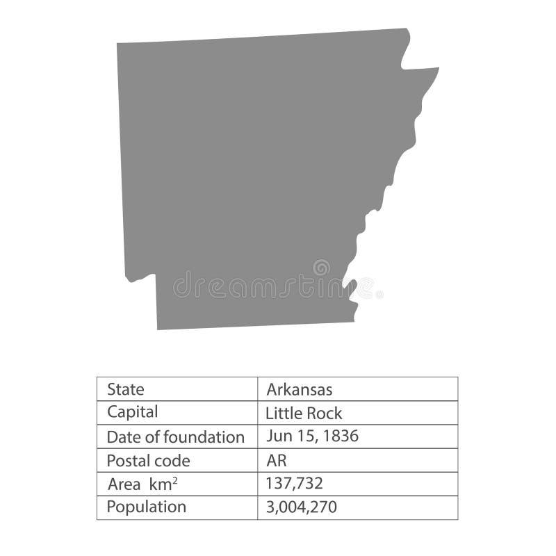 armature Положения территории Америки на белой предпосылке Отдельное государство также вектор иллюстрации притяжки corel иллюстрация вектора