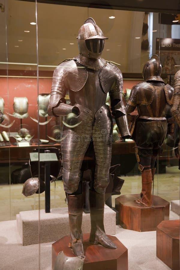 Armature del cavaliere immagini stock libere da diritti