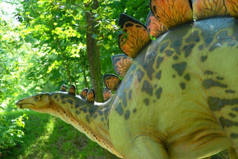 Armatus dello Stegosaurus immagini stock