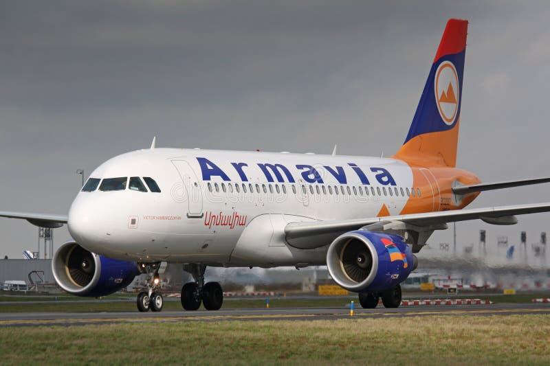 A320 Armavia fotos de stock