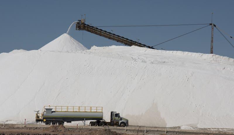 Armazenagem de sal imagem de stock