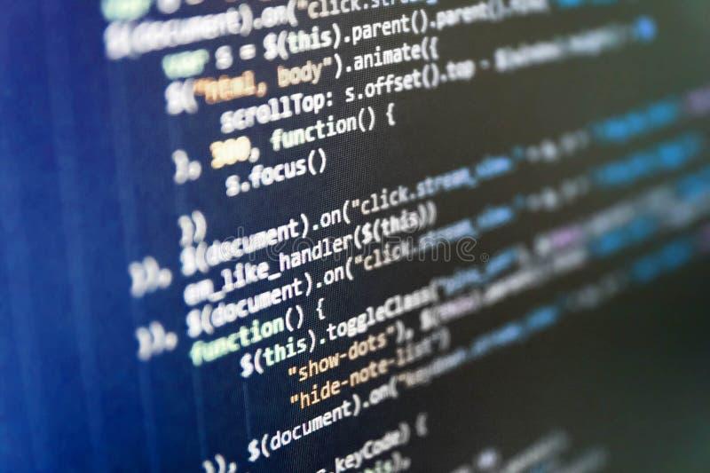 Armazenamento de dados e computação grandes da nuvem fotografia de stock