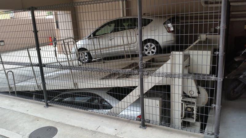 Armazenamento do carro de Japão foto de stock royalty free
