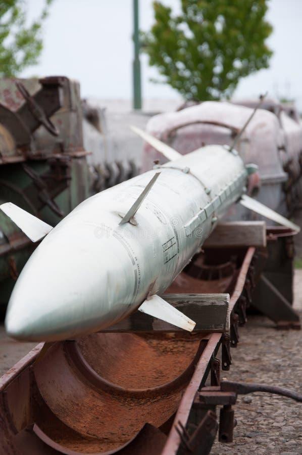 Armazenando mísseis fotografia de stock royalty free