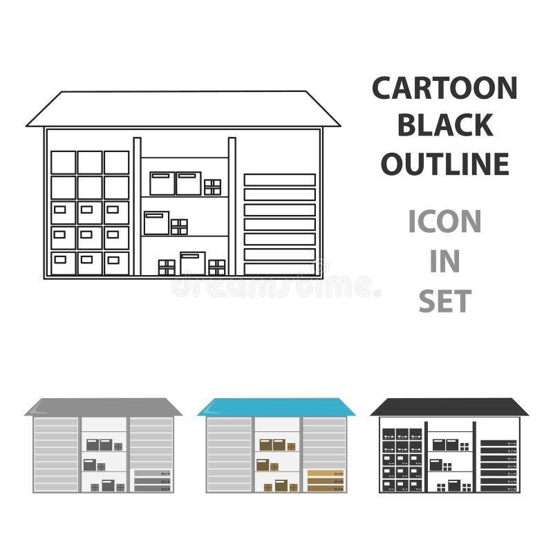 Armazene o ícone da ilustração do vetor para a Web e o móbil ilustração royalty free