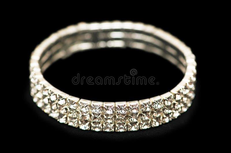 Armband Mit Diamanten Lizenzfreie Stockfotos