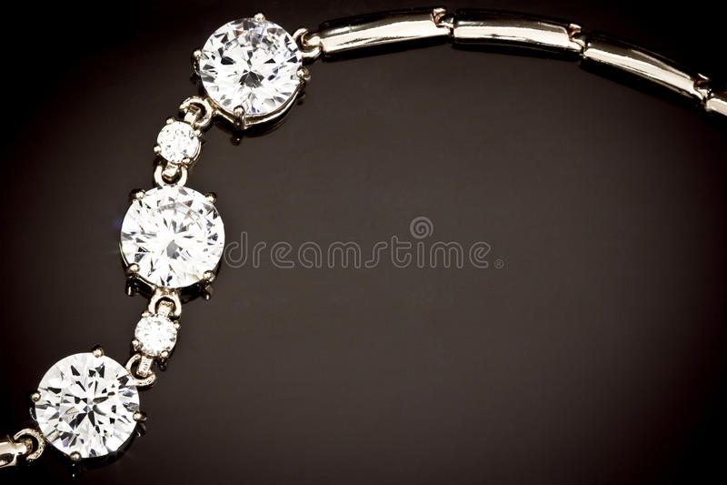 armbanddiamanter arkivfoto