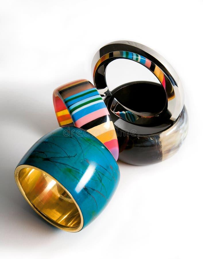 Armbandmodezusammensetzung stockfotografie