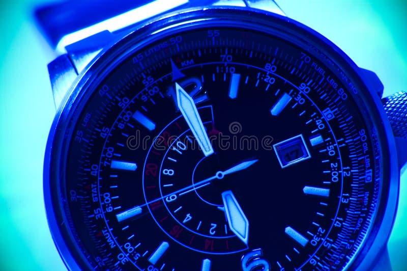 Armbanduhr lizenzfreie stockfotos