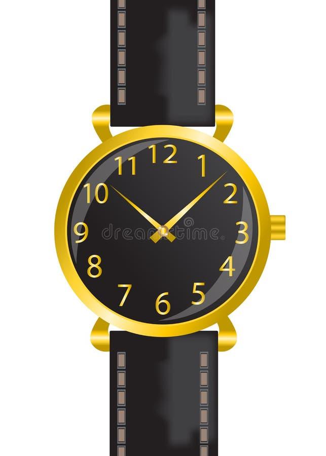 Armbanduhr vektor abbildung