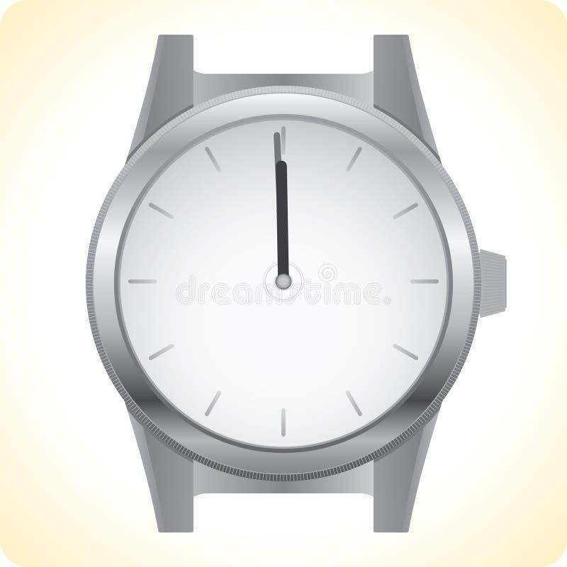 Download Armbanduhr vektor abbildung. Illustration von stunde, selbst - 9080436
