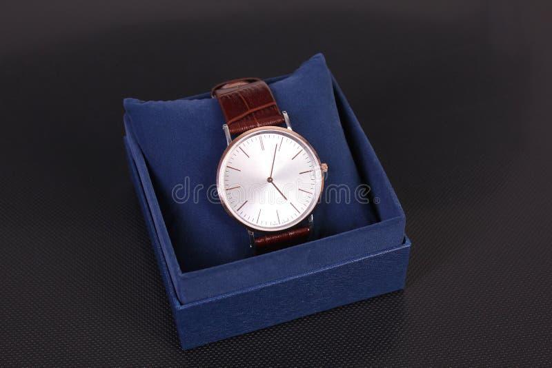 Armbanduhr der Männer stockbilder