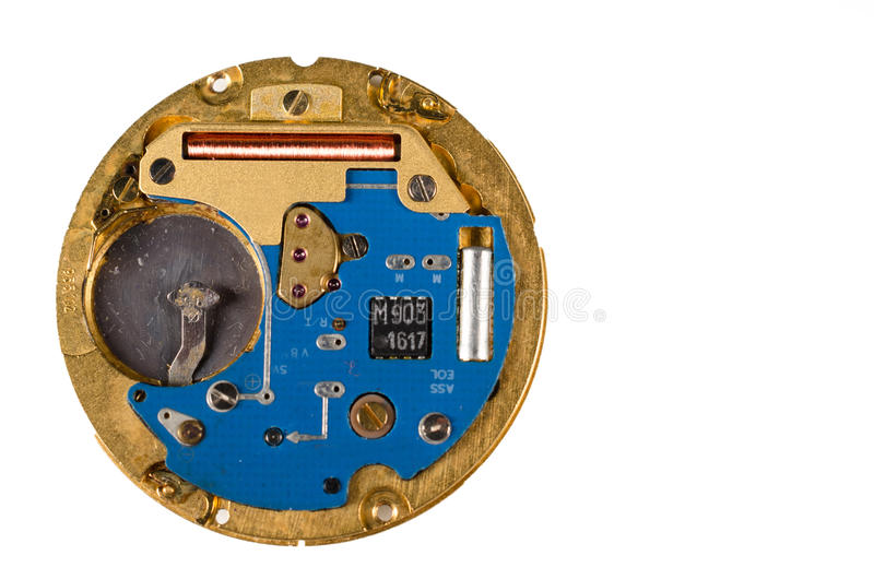 Armbanduhrelektronik stockbild