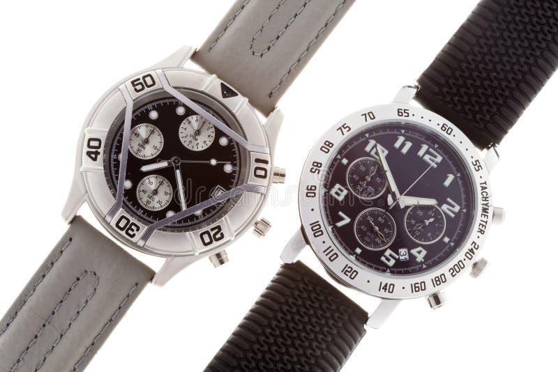 Armbanduhren lizenzfreies stockbild