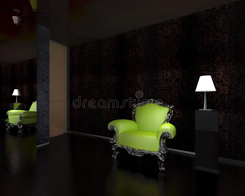 Download Armchair stock illustration. Illustration of colorful - 23834545
